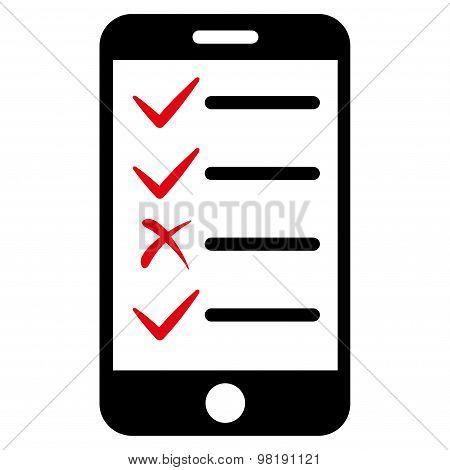 Mobile Tasks Icon from Commerce Set