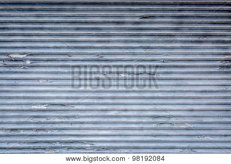 gray grunge metal background texture with paint peeling off