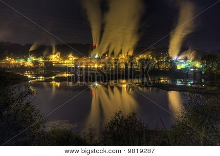 Industial Night Scape