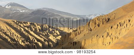 Ladakh, the snow desert Landscape