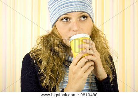 Cofee Woman