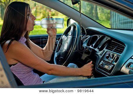 Drunk Female Driver