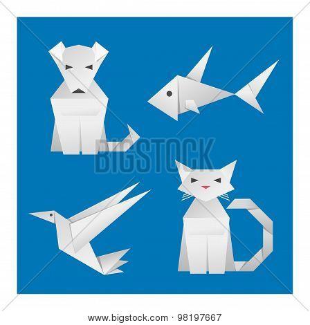 Paper Origami Animals