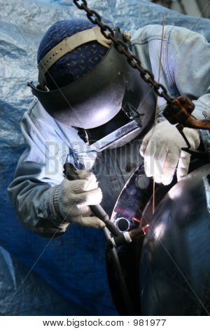 Welder At Work 6