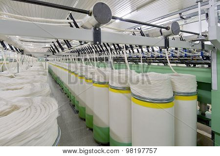 Cotton Spinning Machine