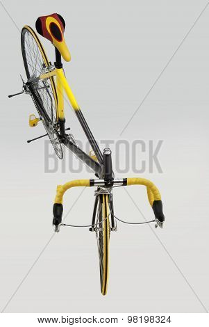 Bicycle Racing Top View