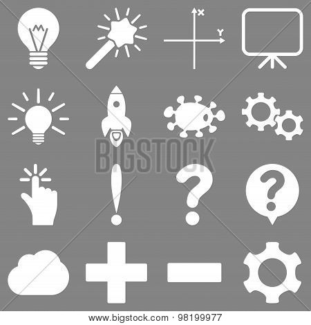 Basic science and knowledge icons