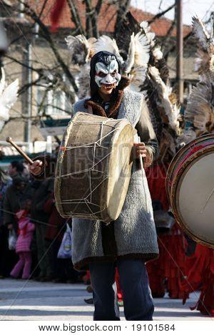 Bulgaria mummers parade 2009