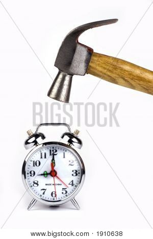 Alarm Clock With Hammer