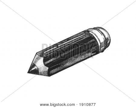 Pencil Ink Sketch