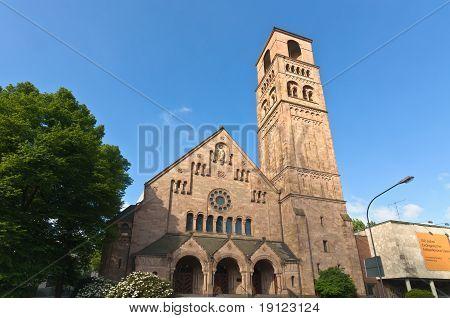 Facade Of The Erlöserkirche