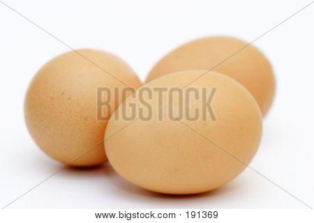 Just Three Eggs