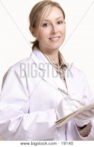 Smiling Healthcare Female