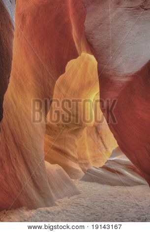 Antelope Valley, Slot Canyon, Page, Arizona , Full Frame Underground Waves