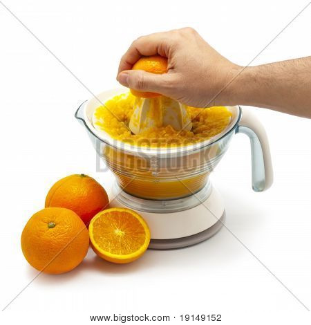 Squeezing Orange Juice