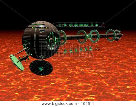 Hot Spaceship
