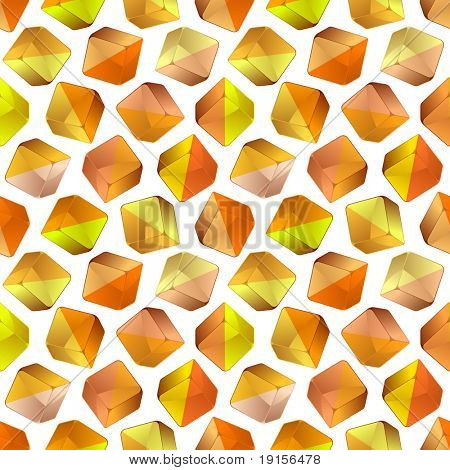 Seamless crystal background. Vector illustration.