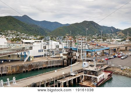 Port Of Picton - New Zealand
