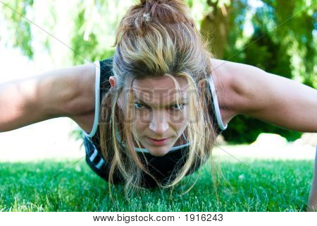 Staying Fit - Pushup