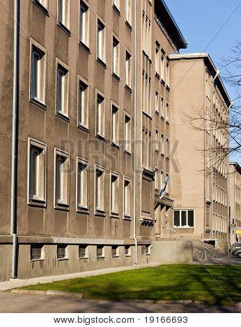 Soviet Era Office In Tallinn