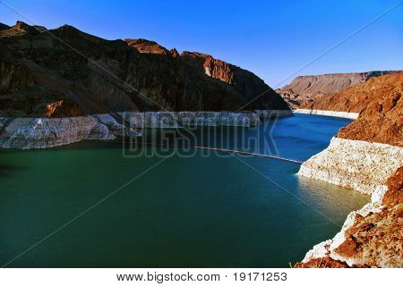 Lake Mead near Hoover Dam