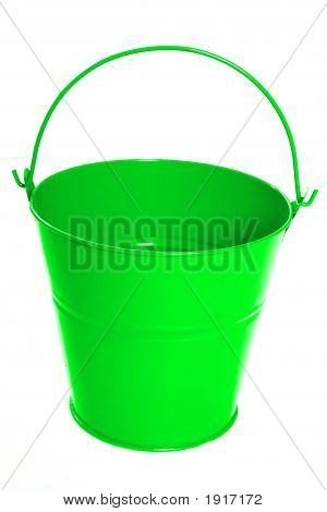 Bright Green Bucket