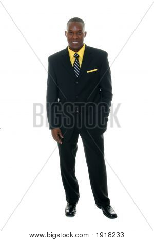 Business Man In Black Suit 5