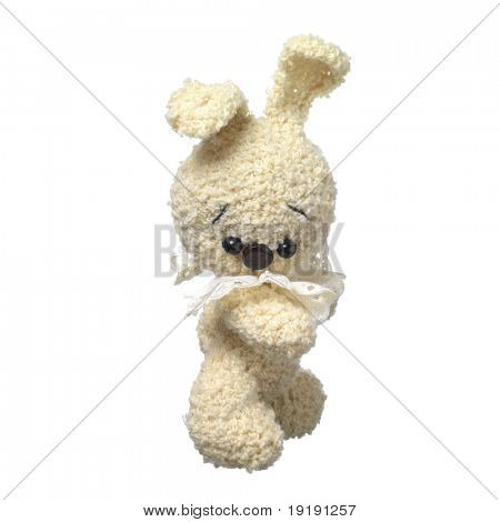 amigurumi  little handmade rabbit