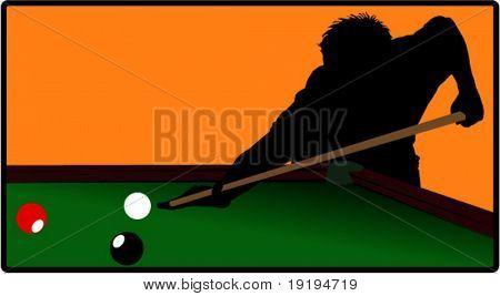Billard-Spieler