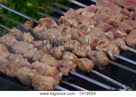 Preparation Barbecue