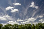 Fair Weather Clouds poster