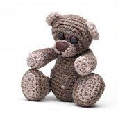 picture of teddy-bear  - Cute little teddy bear - JPG
