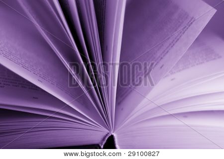 opened book background