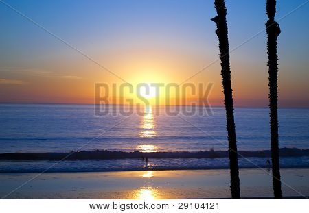 San Clemente at Sunset