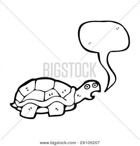 talking tortoise cartoon