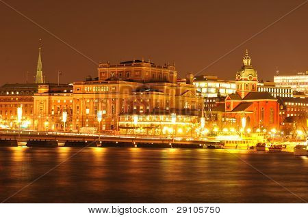 Estocolmo por noche