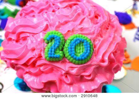 Celebration Cupcake - Number 20