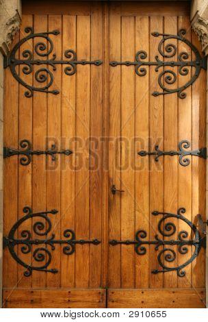 Medieval Wood Door