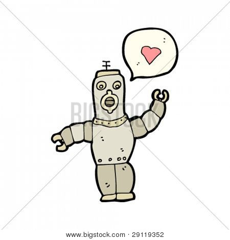 robot in love cartoon