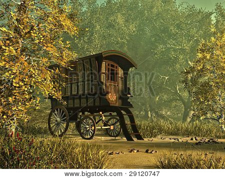 der Gipsy van
