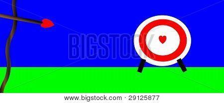 Heart Bullseye