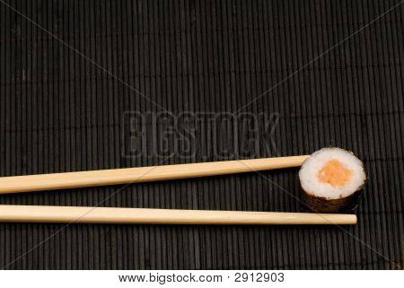 Chopsticks And Sushi Maki