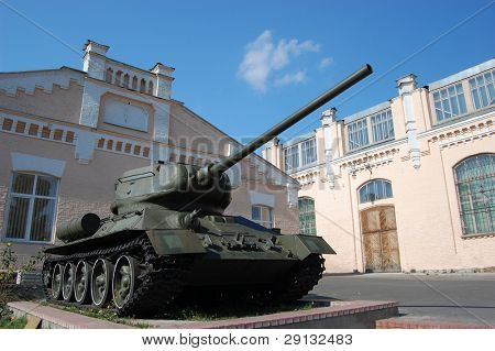 Higher technological school. Kiev,Ukraine. Campus. Historical area