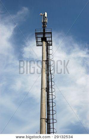 Cellular Transmitter in Kiev,Ukraine