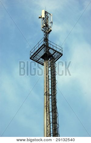 Cellular Transmitter in Kiev,Ukraine