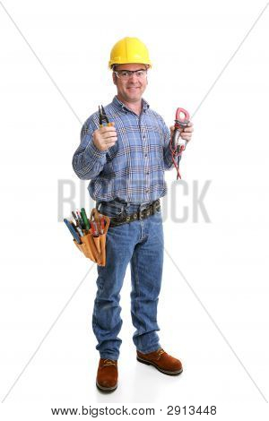 Friendly Electrician Full Body