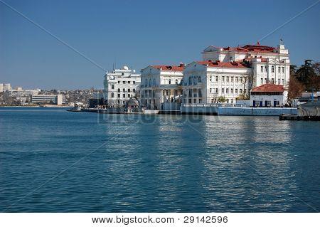 Sevastopol harbor. Sevastopol.Crimea.