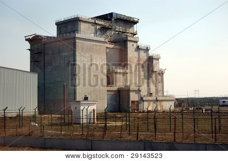 Chernobyl nuclear power plant.Used nuclear fuel storage. Kiev region,Ukraine