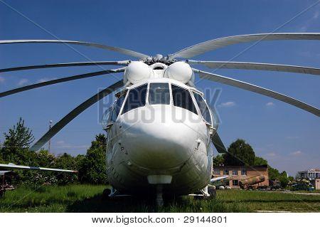Chopper. Museum of aviation.Kiev,Ukraine