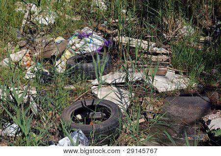 Environmental contamination. Kiev,Ukraine